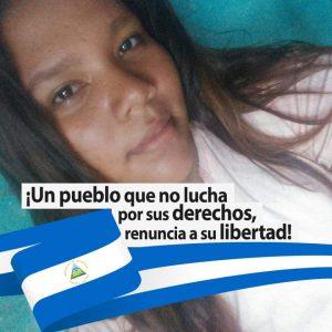 La única presa política en la cárcel La Esperanza. Foto: Cortesía / Artículo 66