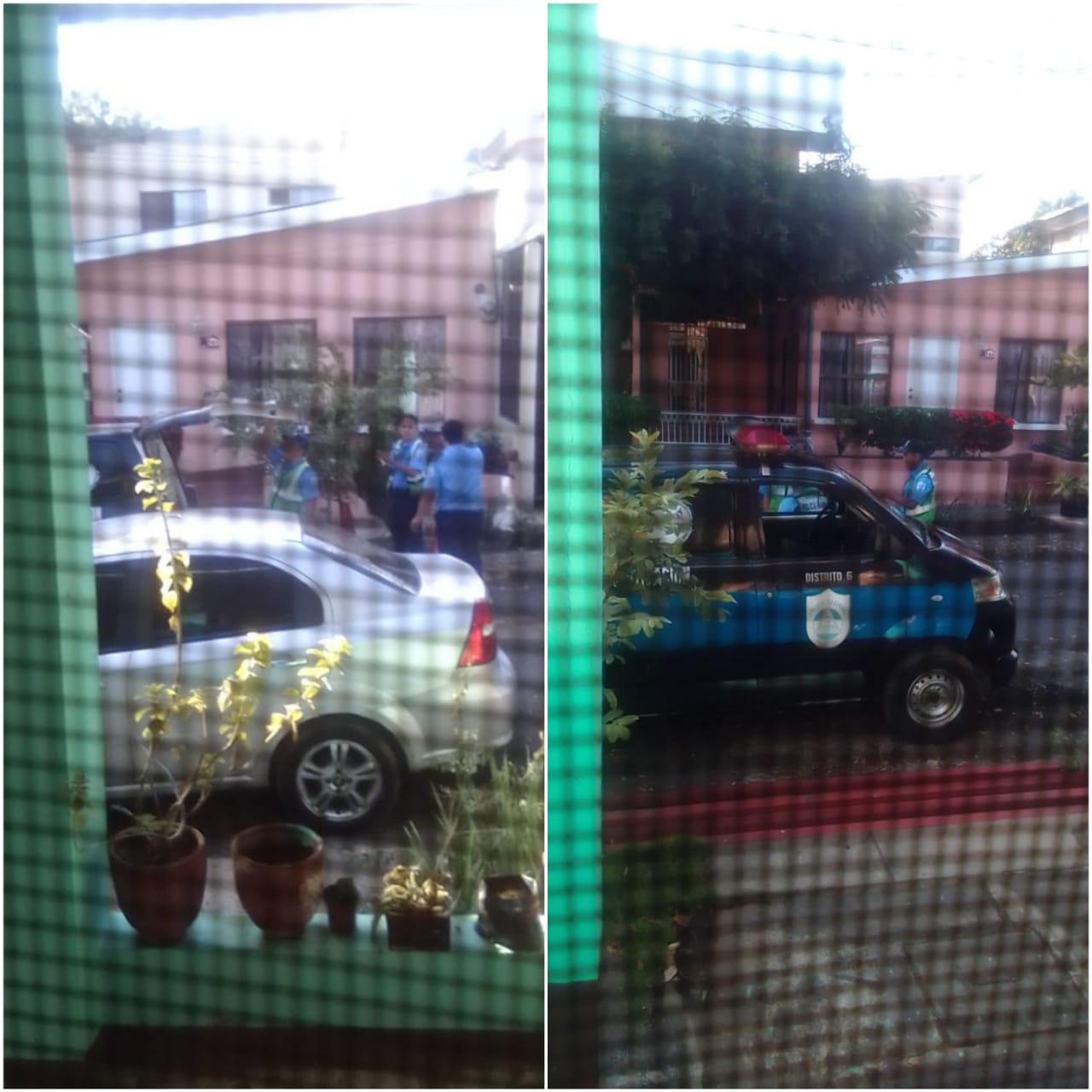 Así amaneció asediada la casa del Dr. José Luis Borge, miembro de la UNAB. Foto: Artículo 66