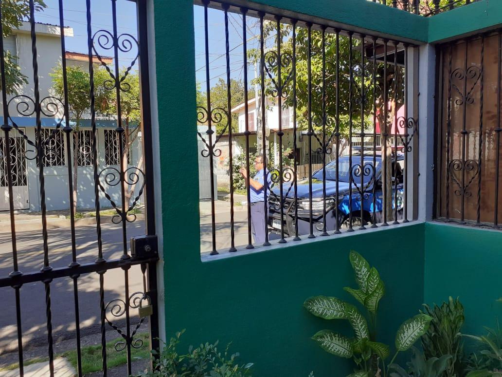 Policía orteguista asediando la vivienda del excarcelado político Ricardo Baltodano, Foto: Cortesía