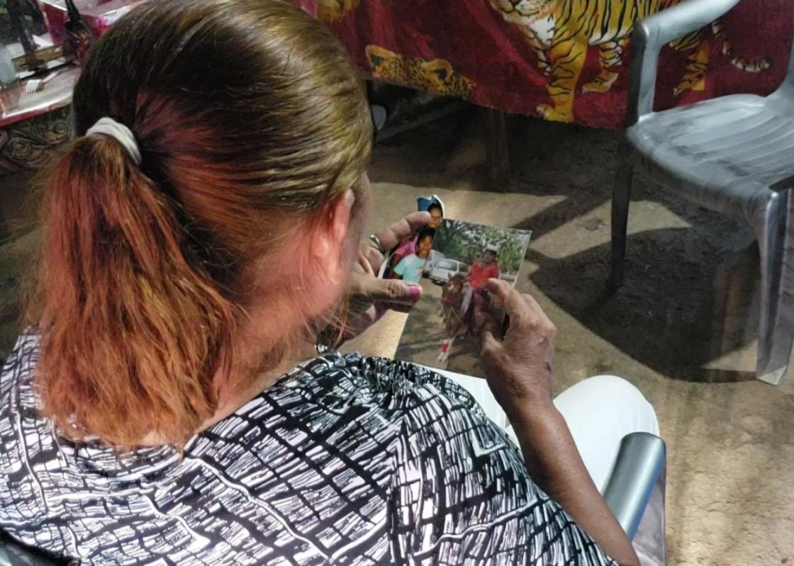 Luz Martínez, madre de Katherine exige su libertad. Foto: G. Shiffman / Artículo 66