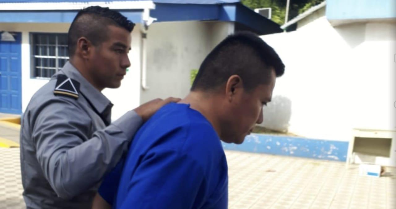 Juez orteguista declara culpable al preso político de Masaya Mauricio Mendoza. Foto: Noel Pérez/Artículo 66