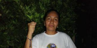 """Esposa de Chabelo: """"Sigamos en la lucha, porque este gobierno no puede seguir en el poder"""". Foto: Noel Miranda/Artículo 66"""