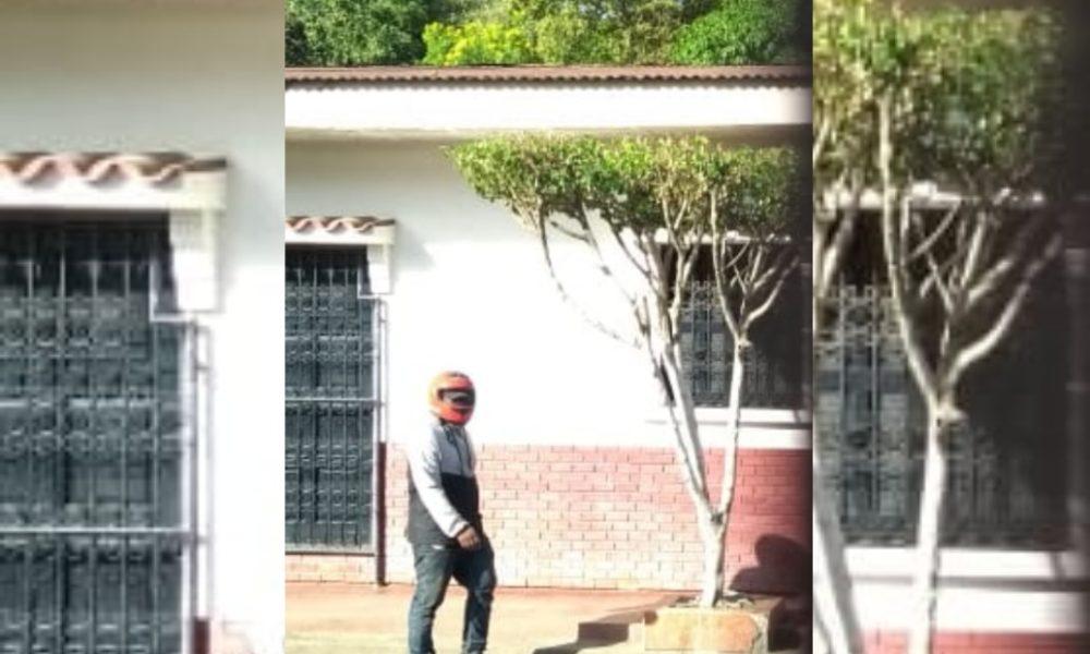 Paramilitares asedian vivienda de Bayron Estrada, ubicada en León. Foto Cortesía