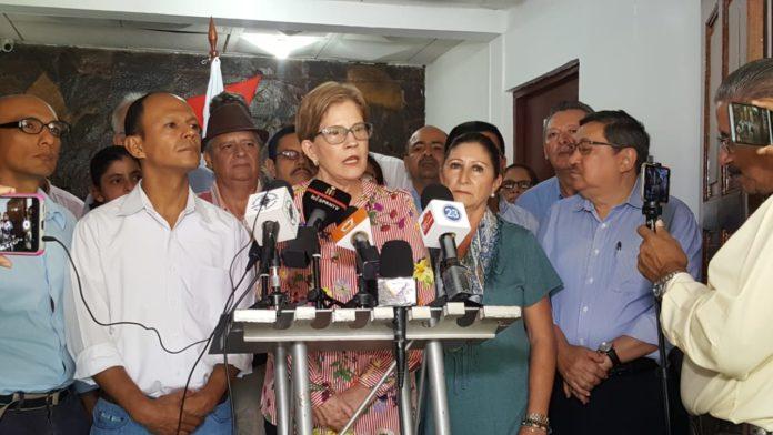 «No aceptamos una reforma electoral sin la presencia de la OEA», advierte Kitty Monterrey, presidenta de CxL. Foto: Artículo 66