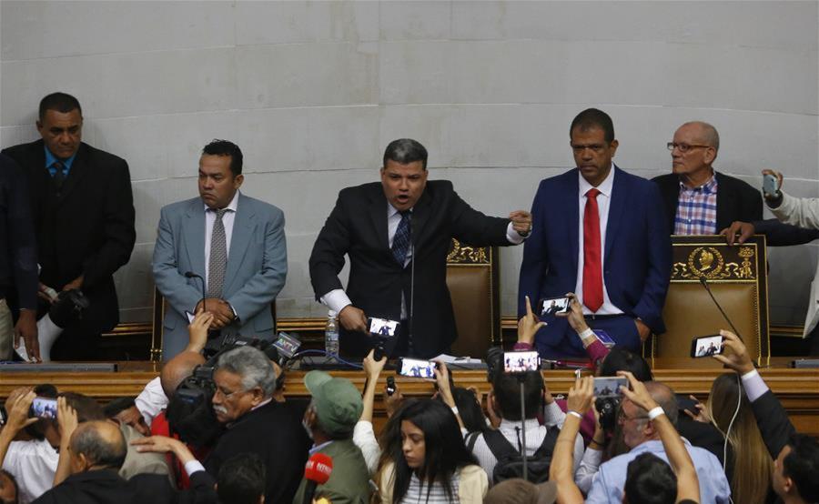 Departamento del Tesoro de EE.UU. sanciona a siete diputados aliados al chavismo