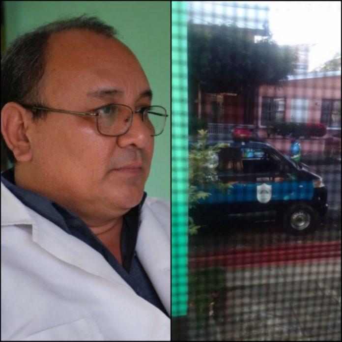 «Es para que dejés de estar jodiendo al gobierno de Daniel Ortega», fue la respuesta de un policía al ser encarado por el doctor Borge
