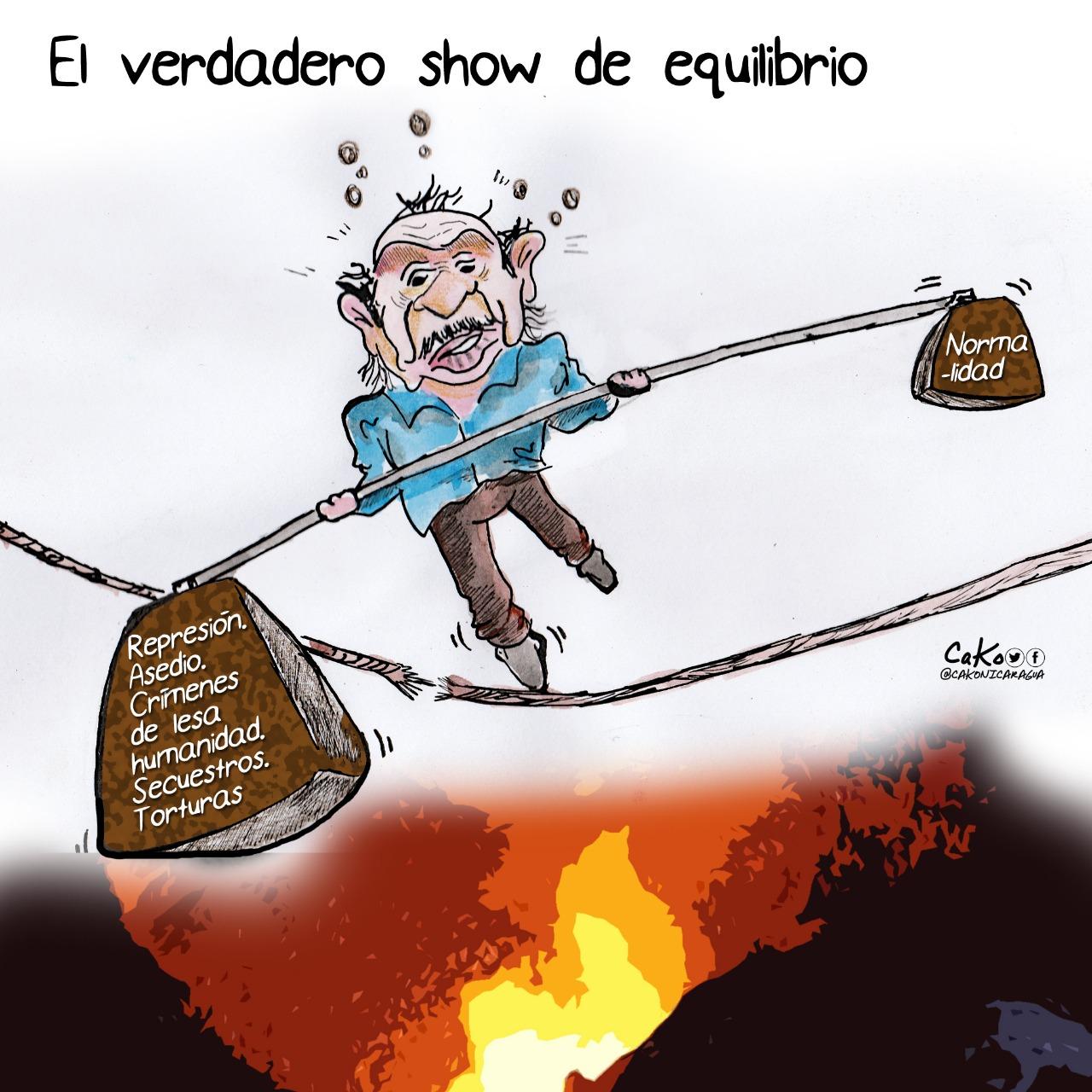 La Caricatura: El show del régimen