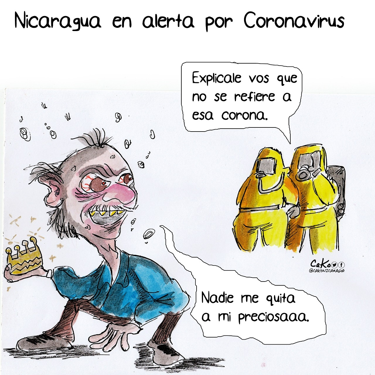 La Caricatura: Alerta por el coronavirus