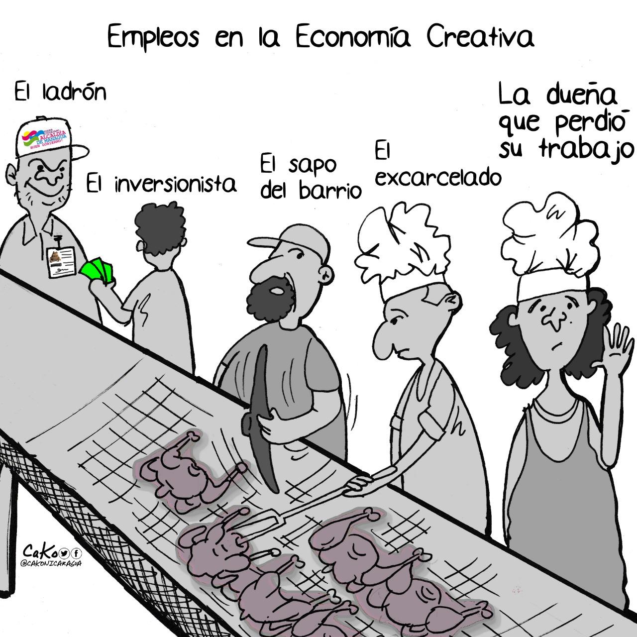 """La Caricatura: Los empleos en la """"Economía Creativa"""""""