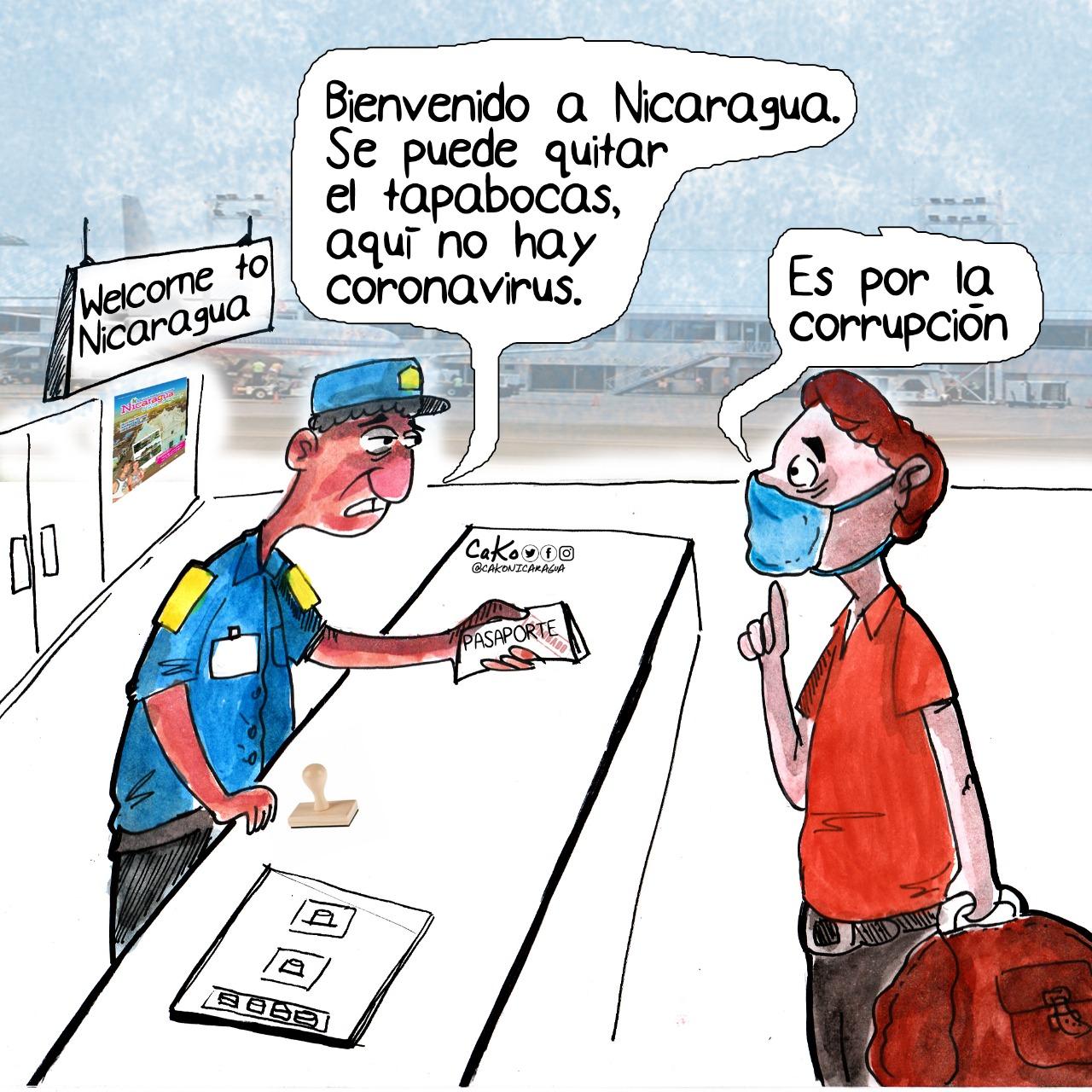 La Caricatura: El virus que destruye a Nicaragua