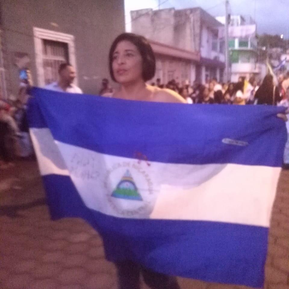 María Esperanza Sánchez García, de 51 años, originaria de Matagalpa, secuestrada por la dictadura. Foto: Cortesía