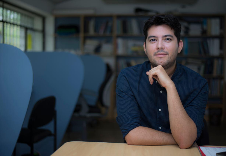 Yaser Morazán, activista de derechos humanos y trabajador social. Foto: La Prensa / Cortesía