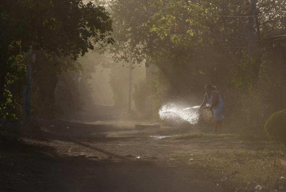 Occidente de Nicaragua en emergencia por tolvaneras. Foto: Confidencial