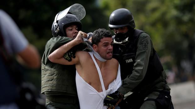 Torturas a opositores venezolanos. Foto: Tomada de Internet