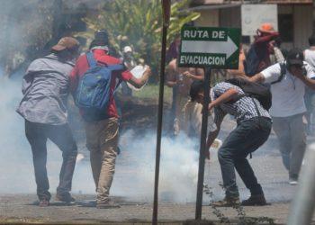 Universidad Agraria suspende sanción a 43 estudiantes que protestaron contra fraude de UNEN. Foto: Confidencial