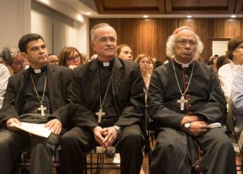 Obispos catalogan las pintas orteguistas como «acciones terroristas» y aseguran que esos actos no intimidan ni detienen la labor de la Iglesia. Foto: Confidencial