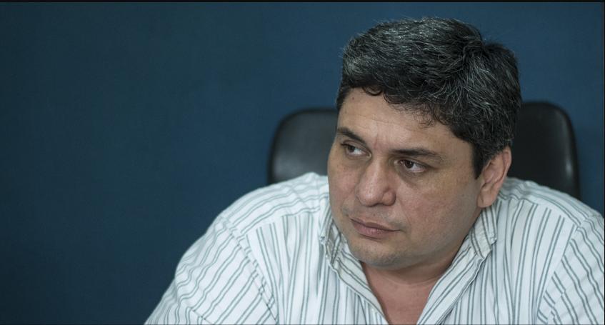 Disparos contra vehículo del opositor Eliseo Núñez y miembros de la Alianza Cívica. Foto: Cortesía