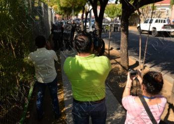 Antimotines arremeten contra periodistas independientes: Los agreden y amenazan de muerte. Foto: La Prensa