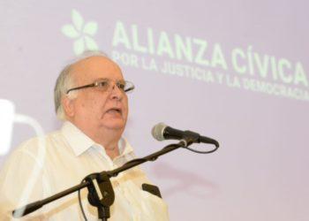 José Pallais, miembro de la Alianza Cívica por la Justicia y la Democracia. Foto: La Prensa.