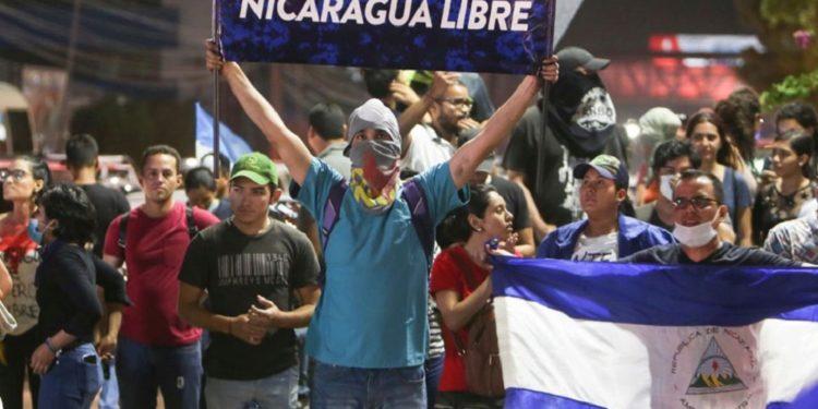 Protestas en Nicaragua. Foto: Radio Latin Amerika.