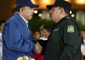 Daniel Ortega y Julio César Avilés. Foto: 19 Digital.