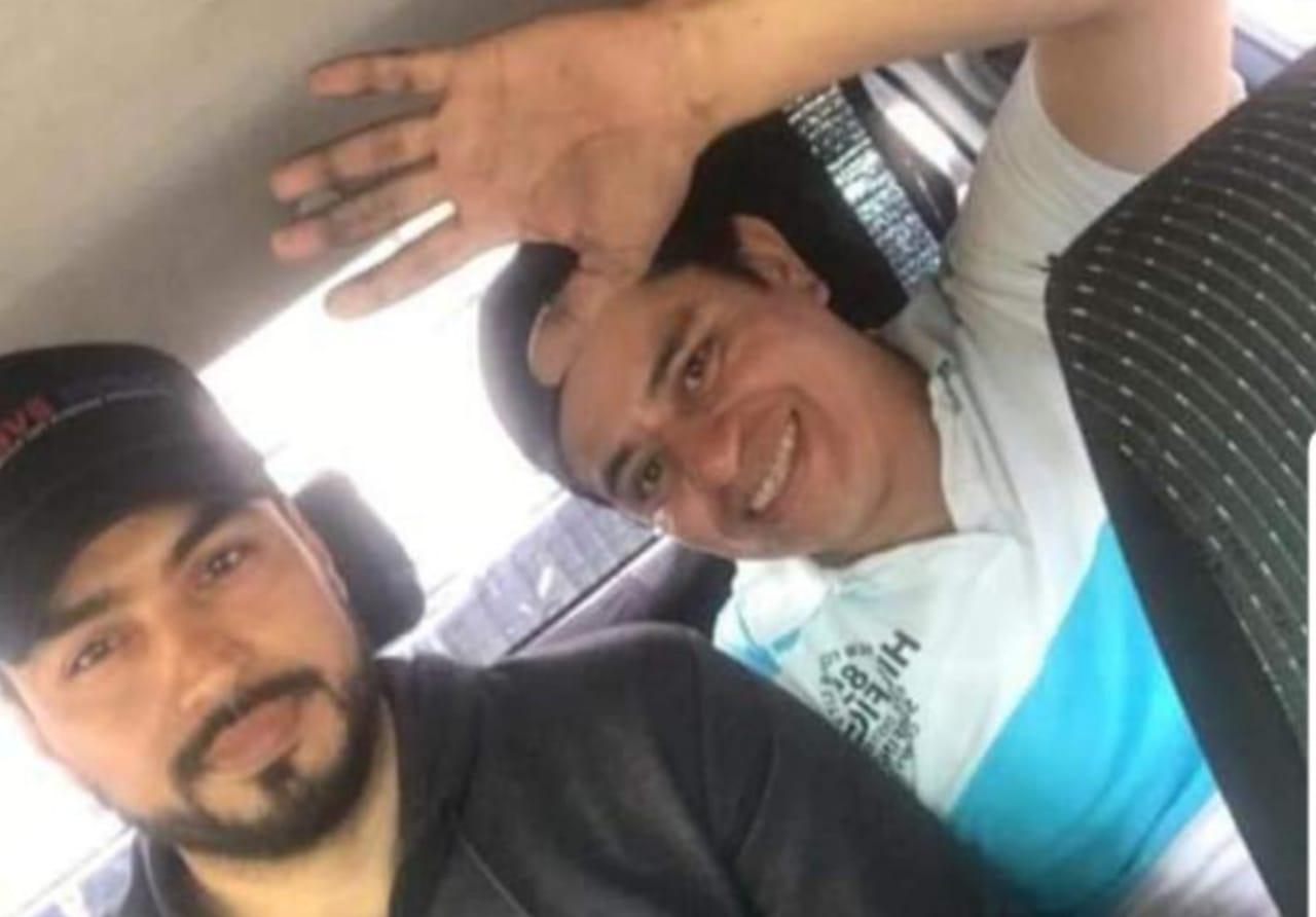 """Exreos políticos Francisco Sequeira y Lenin Salablanca: """"La Policía nos amenazó con echarnos a la militancia sandinista, si seguimos jodiendo"""". Foto: Cortesía"""