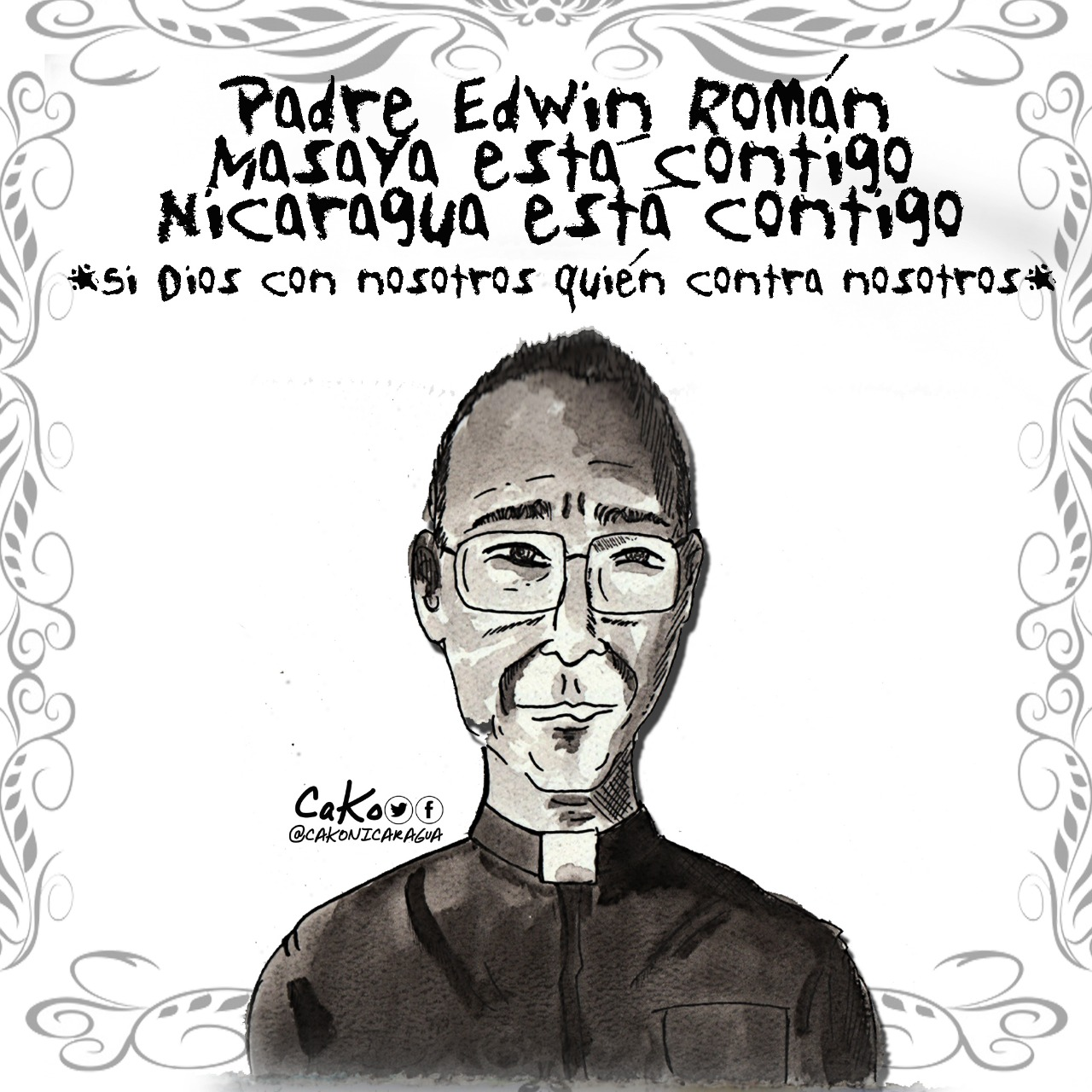 La Caricatura: Feliz Cumpleaños Padre Edwing
