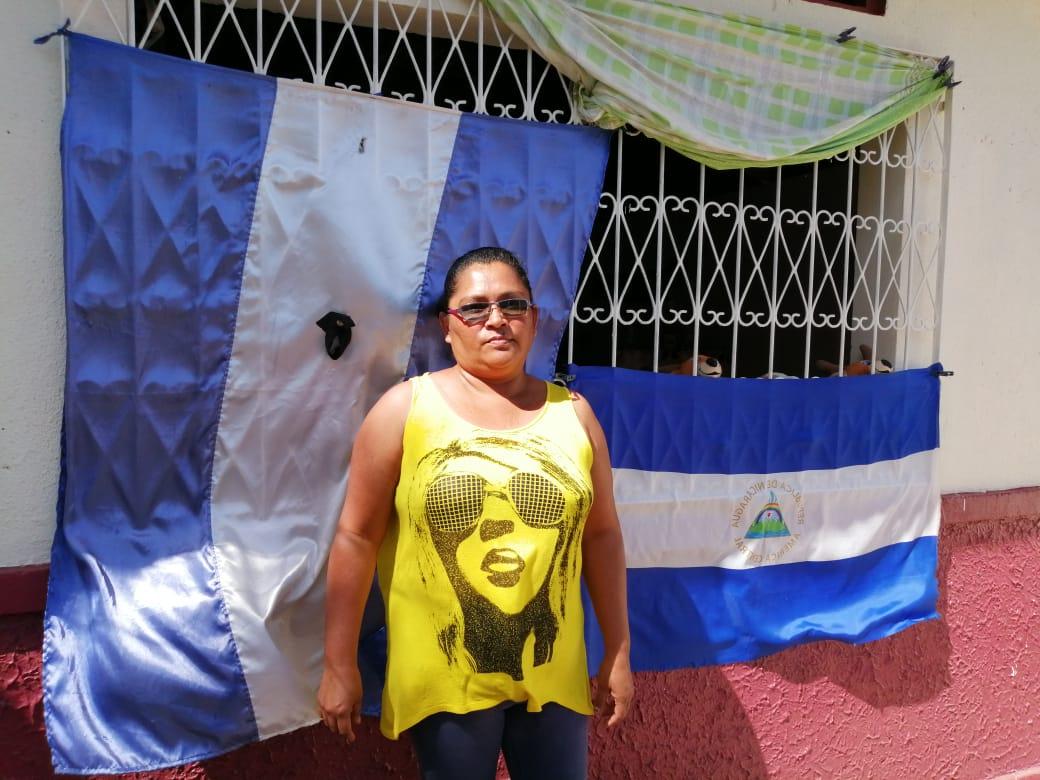 Fanáticos del régimen orteguista lanzan piedras a la casa de la exrea política Tania Muñoz y amenazan a sus familiares con darles plomo