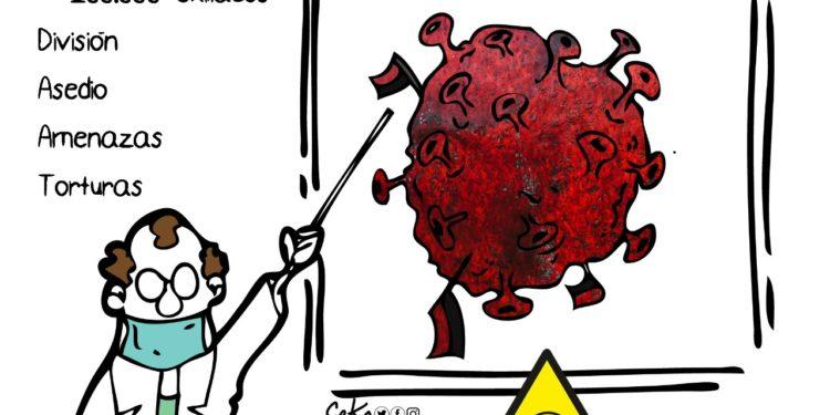 La Caricatura: El Ortegavirus