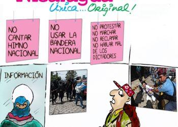 La Caricatura: Nicaragua, única y original