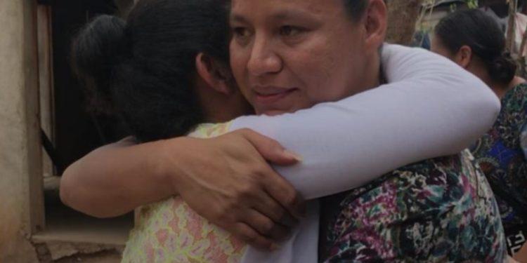Presa política Mayela Cruz enviada a casa por cárcel, después de sufrir preinfarto. Foto: Cortesía