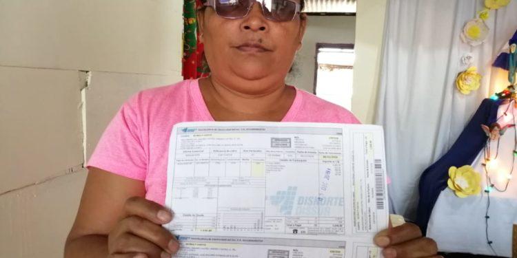 Cortan energía eléctrica a la exrea política de Niquinohomo Tania Muñoz. Foto: N. Miranda / Artículo 66