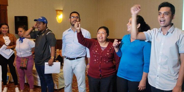 Familiares de presos políticos y excarcelados se aglutinan en un nuevo movimiento político denominado Asociación Víctimas de Abril. Foto: G. Shiffman / Artículo 66