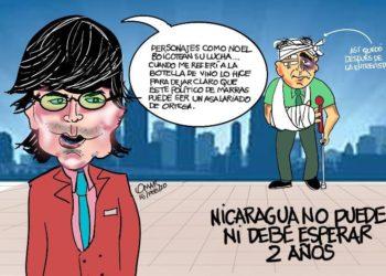 La Caricatura: El nocaut a Noel Vidaurre