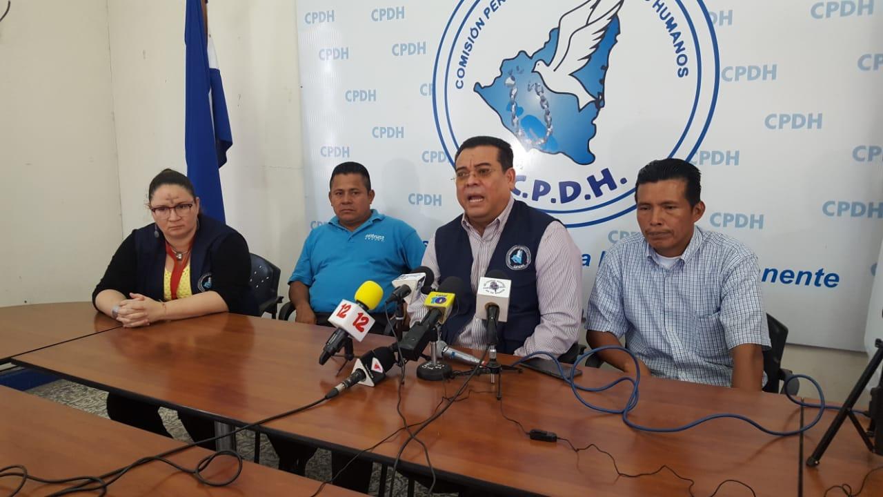 Indígenas denuncian ante la CPDH masacre contra comunitarios el 29 de enero.