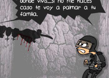 La Caricatura: El verdadero terror detrás de la represión