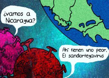 La Caricatura: El virus que azota Nicaragua