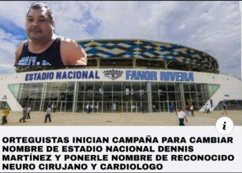 Lluvia de memes por propuesta de cambiar el nombre a estadio Denis Martínez