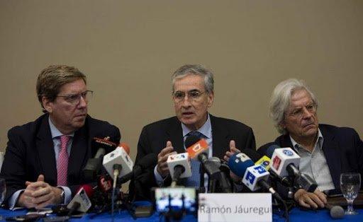 Alianza Cívica, UNAB, CxL y Yatama sostienen reunión con eurodiputados en El Salvador. Foto: Cortesía