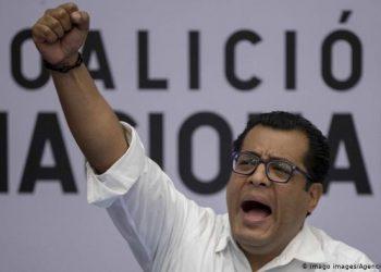 Félix Maradiaga miembro de la Coalición Nacional. Foto: EFE
