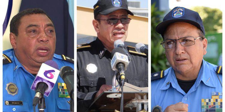 Las razones de Estados Unidos para sancionar a tres altos jefes policiales de la dictadura de Ortega