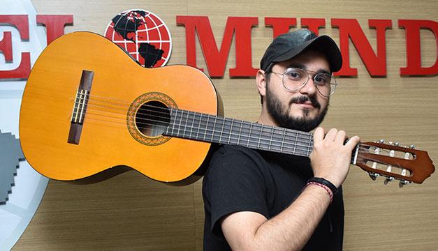 Cantautor nicaragüense Jandir Rodríguez ofrecerá dos conciertos virtuales. Foto: Cortesía