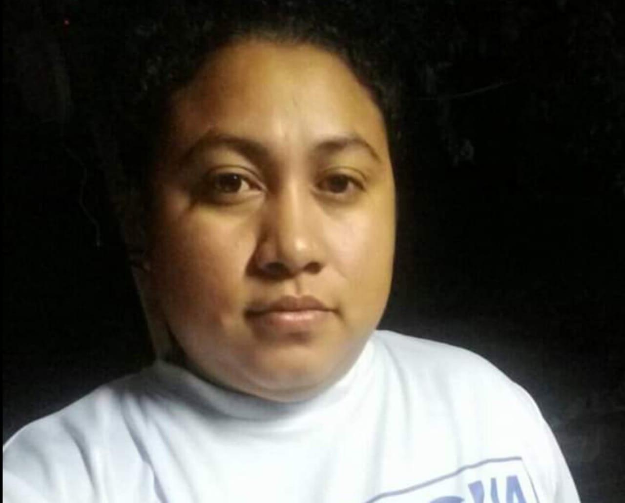 Presa política María Jesús Gómez, de 30 años, originaria de la ciudad de Masaya