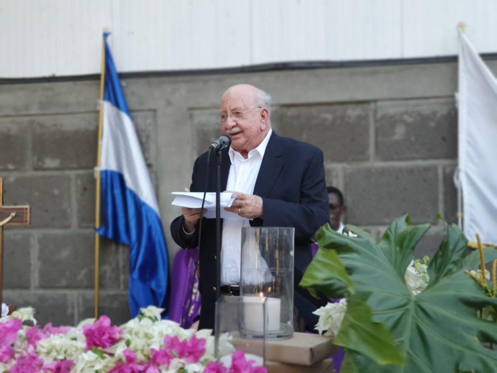 Jaime Chamorro Cardenal, director de La Prensa. Foto: Álvaro Navarro / Artículo 66