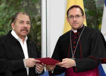 Nuncio descarta negociación entre el gobierno de Daniel Ortega y la oposición