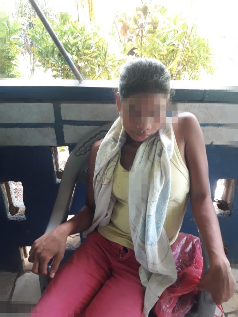 Adolescente herida de bala por colonos es dada de alta y urge ayuda económica. Foto: Cortesía