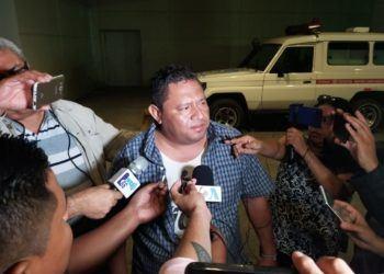 Periodista David Quintana denuncia agresión de la que fue víctima por parte de turba orteguista. Foto: Artículo 66