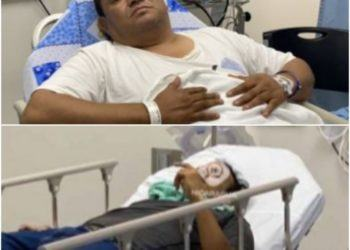 Dos periodistas fueron hospitalizados por golpiza de turbas orteguistas en Catedral de Managua