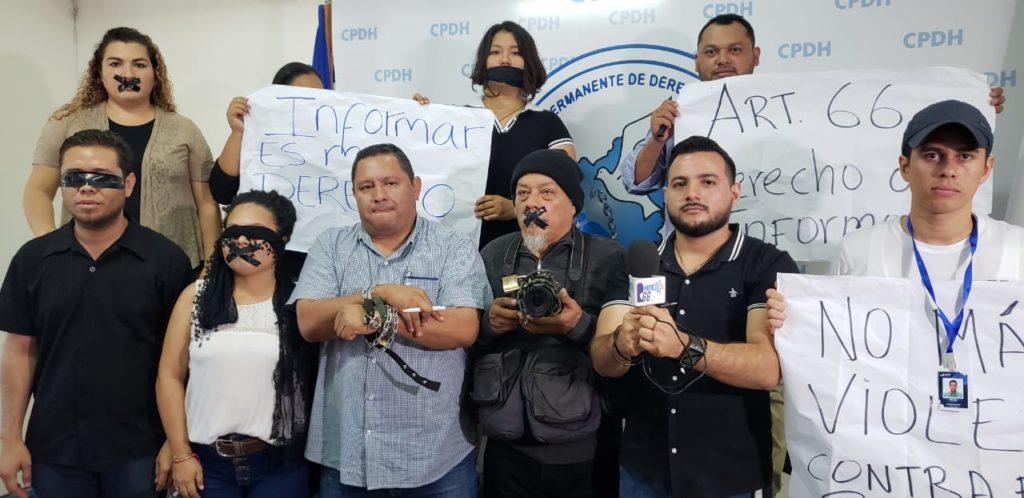 Periodistas independientes lanzan una alerta ante escalada de agresiones. Foto: Artículo 66