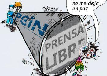 La Caricatura: El zumbido de la prensa libre